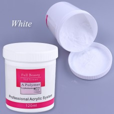 Acryl Powder 120 ml white
