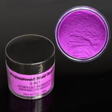 Acryl Powder 30 g neon lila
