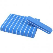 10 pieces Mini Nail Buffer blue