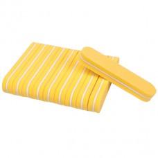 10 pieces Mini Nail Buffer yellow