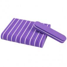 10 pieces Mini Nail Buffer lila