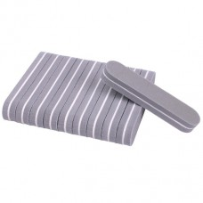 10 pieces Mini Nail Buffer grey
