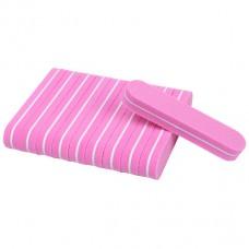 10 pieces Mini Nail Buffer pink